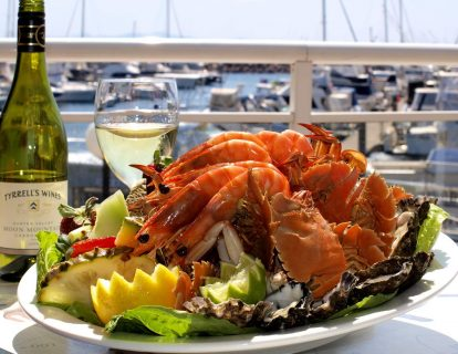 Fruits de mer sur le port- plaisirsnature